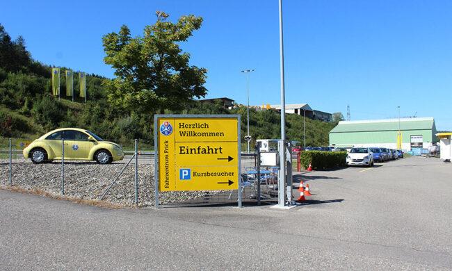 Willkommen im TCS Fahrzentrum Frick